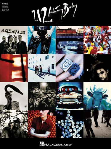 U2 - achtung baby piano, voix, guitare (Pvg)