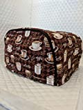 Simple Home Inspirations Cotton Toaster Cover - Cafe (2 Slice Reg)