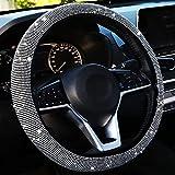 Bling Steering Wheel Cover Women Crystal Diamond Steering Wheel...
