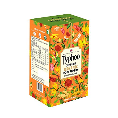 Typhoo Cleansing Organic Root Remedy Tea Bag (20 Tea Bags)