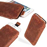 MOELECTRONIX 1GK Genuine Leather Slim Cover Case for Archos