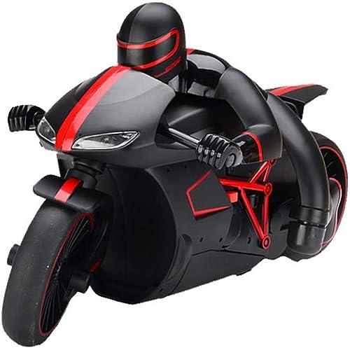 Mogicry Größe High-Speed-Fernbedienung Motorrad RC Stunt Auto 2,4 Ghz Drift Spielzeugauto Lade elektrische Kind Scheinwerfer 20km   h Rennwagen Modell Jungen Kind für Kinder 3+