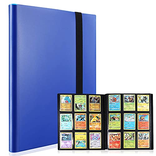 classeur carte pokemon, Porte Carte Pokemon pochette carte pokemon album pokemon 360 Cartes, Livre Pokemon, Album classeur pour Cartes à Collectionner Pour Pokémon, YU-Gi-Oh