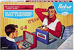Battleship- Retro Edition-- one of the best board games to play over Zoom