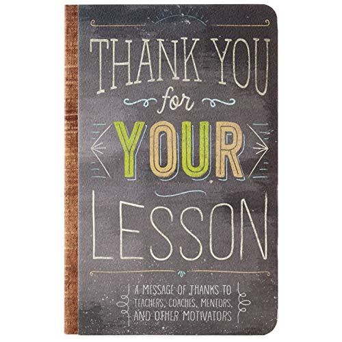Hallmark Thank You for Your Lesson Book Gift Books Body, Mind & Spirit