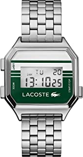 Lacoste Unisex's Digital Quartz Watch with Stainless Steel Strap 2020137