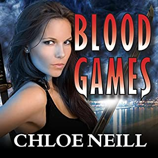Blood Games audiobook cover art