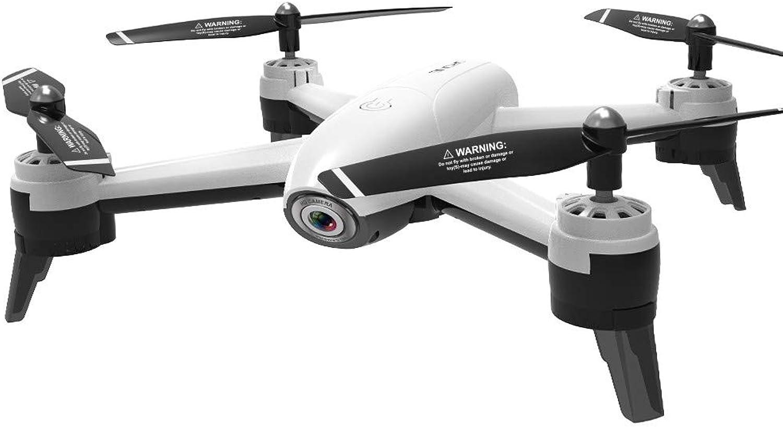 Squarex SG106 2,4 GHz 4CH WiFi FPV Optischer Fluss Dual 720P HD-Kamera RC Quadcopter-Drohne, EINE Taste ZUM TAKT, Einfach für Anfnger zu Lernen (Wei)