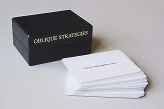 Oblique strategies: Over one hundred worthwhile dilemmas