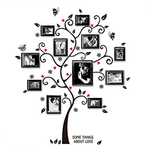 160 x 204 Wall Sticker Large Photo family treeEffect Picture WandSticker4U
