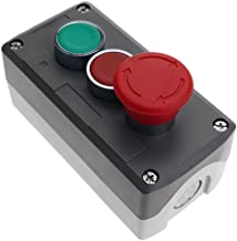 Pulsador moment/áneo 19mm 1NO 400V 10A normal abierto anti v/ándalos niquelado BeMatik
