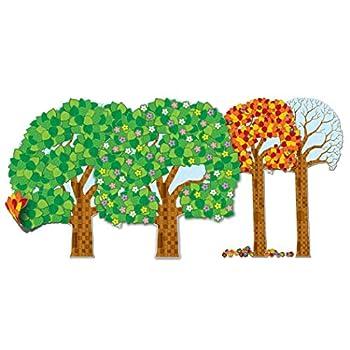 Carson Dellosa – Big Seasonal Tree Bulletin Board Set Classroom Décor 84 Pieces