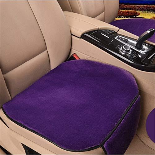 YBINGA Funda universal para asiento de coche, funda protectora de asiento de coche para coches de cinco plazas, funda protectora de tela (tamaño : 2 asientos delanteros), color morado