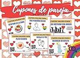 CUPONES DE PAREJA: TALÓN DE VALES CANJEABLES (DESAYUNO EN CAMA, MASAJES, BAÑO EN PAREJA...) | REGALO ROMÁNTICO Y ORIGINAL PARA TU PAREJA LESBIANA | ... LAS ENAMORADAS, SAN VALENTIN | ANIVERSARIO.
