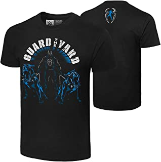 WWE Roman Reigns Guard The Yard Authentic T-Shirt