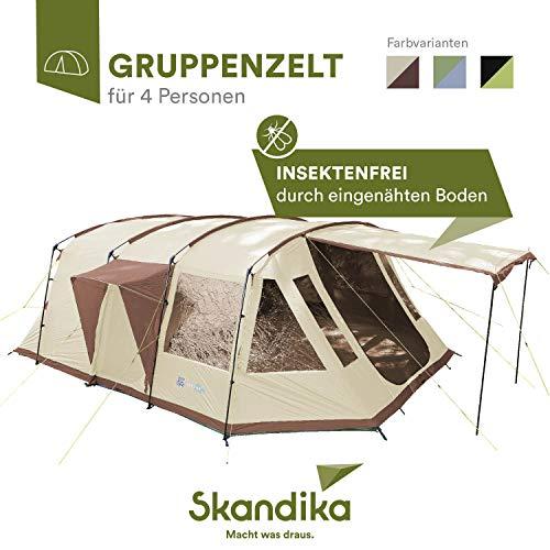 Skandika Nordland - 4 Personas - Tienda campaña Familiar