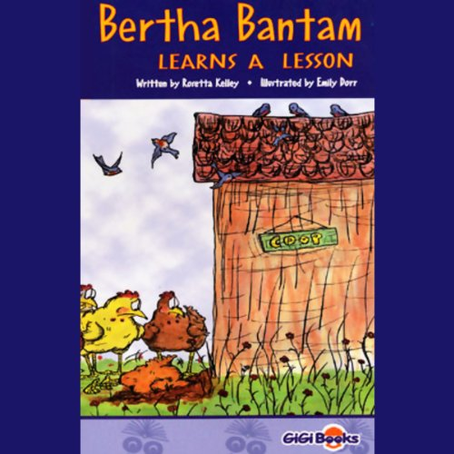 Bertha Bantam Learns a Lesson audiobook cover art