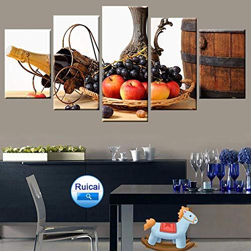 rkmaster-5 modulaire afbeeldingen aan de muur voor schilderijen in keuken posters en moderne canvasafbeeldingen