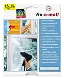 Suki - Film plastico per isolamento finestre, 170 x 150 cm