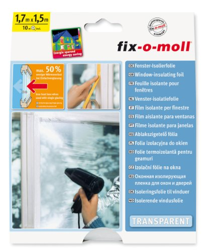 suki Kunststoff Fenster Isolierfolie 170x 150cm
