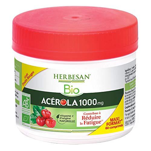 HERBESAN - ACEROLA 1000 BIO MAXI POT