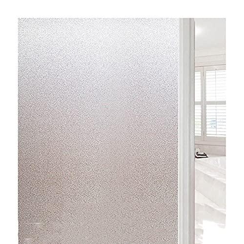 Película de ventana de privacidad esmerilada Película de vidrio manchado HTV Transferencia de calor Vinilo Pegatinas de ventana Pegatinas de vidrio Ducha Puerta Película No Pegamento