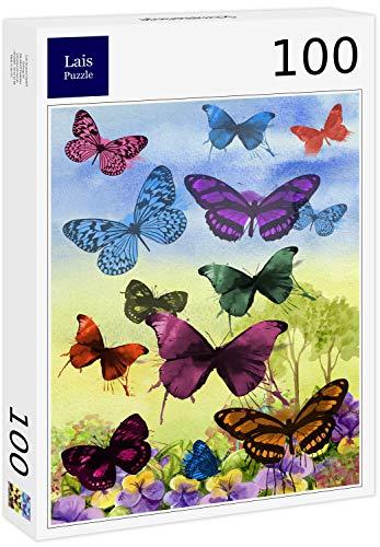 Lais Puzzle Schmetterlinge 100 Teile