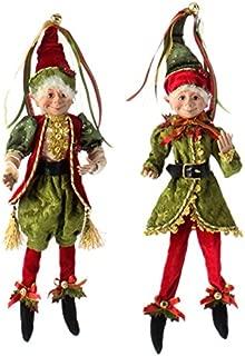 botanical christmas decorations