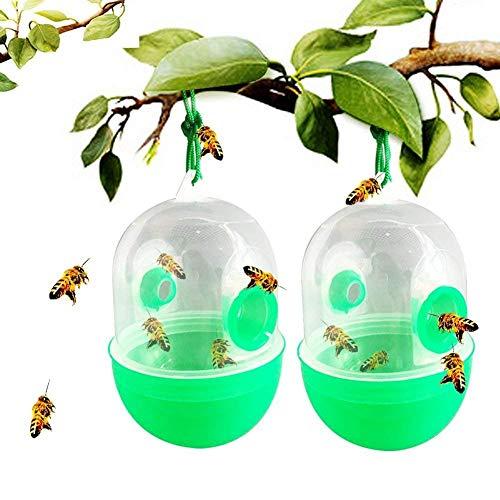 Ram 2 x Wespenfalle zum Aufhängen, Honigherstellung, Bienenhäuser, Hornisse, Bienenenfalle