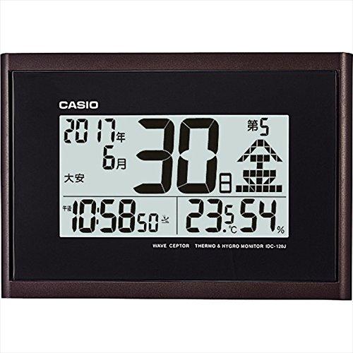 カシオ ウエーブセプター 日めくりカレンダークロック 【おき型 置型 卓上 置時計 デジタル casio かしお カレンダー アラーム 温度 湿度 温湿度 電波時計 壁掛け かべかけ 掛け時計 F7109HT07】