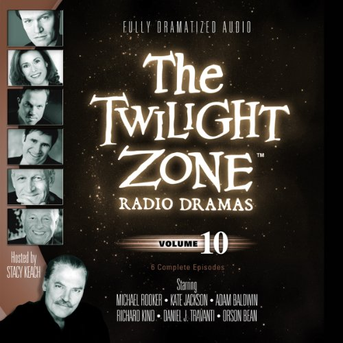 The Twilight Zone Radio Dramas, Volume 10 audiobook cover art