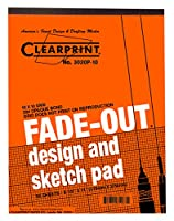 Clearprint 3020 Bondパッドwith Printed fade-out 10 x 10グリッド、20 lb。、8 – 1 / 2 x 11インチ、50シート、ホワイト、1各( 937811p1 )