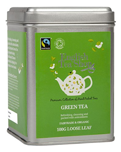 English Tea Shop - Grüner Tee, BIO Fairtrade, Loser Tee, 100g Dose