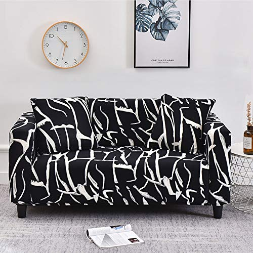 WXQY Elastic Sofa Slipcovers Modern Sofa Cover for Living Room Sectional Corner L-shape Chair Protector Couch Cover A5 4 seater
