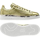 adidas Damen Stan Smith New Bold W Fitnessschuhe, Gold (Dorado 000), 37 1/3 EU
