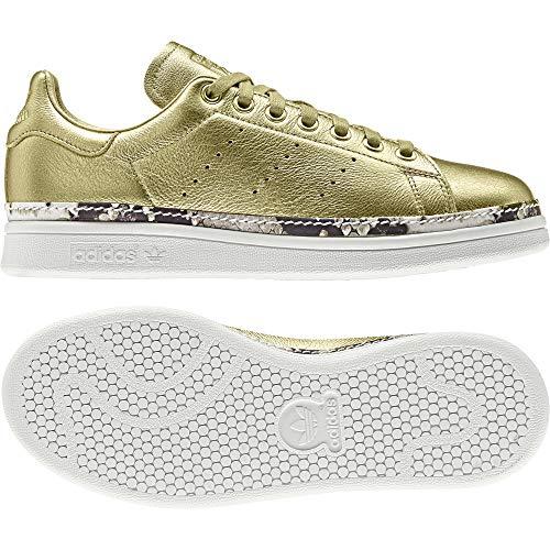 Adidas Stan Smith New Bold W, Zapatillas de Deporte para Mujer, (Dorado 000), 39 1/3 EU