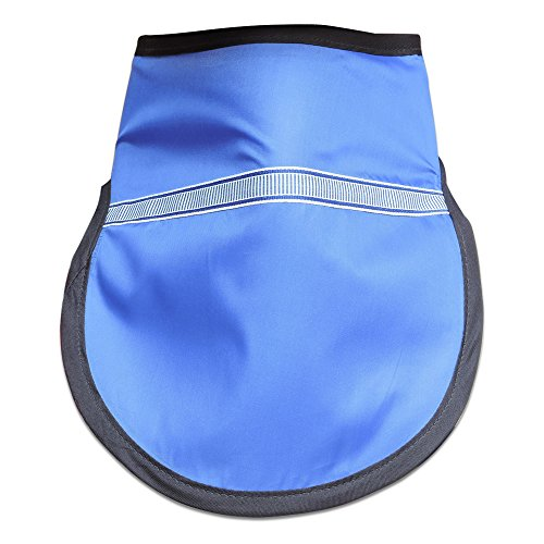 HealthGoodsIn - Thyroid Shield (Thyroid Collar) – 0.5mm Lead (pb) Equivalency Protection for Working with X-Ray Machine - Blue