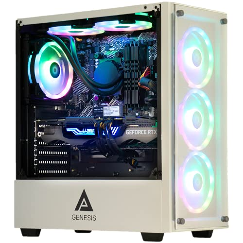 Cobratype Sonora Gaming Desktop PC – Ryzen 5800X, RTX 3060, 32GB DDR4, 1TB NVMe – Free AIO Liquid Cooler While Supplies Last