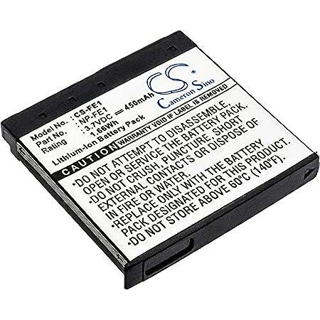 DSTE 2-Pack Rechange Batterie pour Sony NP-FE1 Cyber-shot DSC-T7 DSC-T7//b DSC-T7//S DSC-P2 DSC-P3 DSC-P5 DSC-P9 DSC-P7 Cam/éra