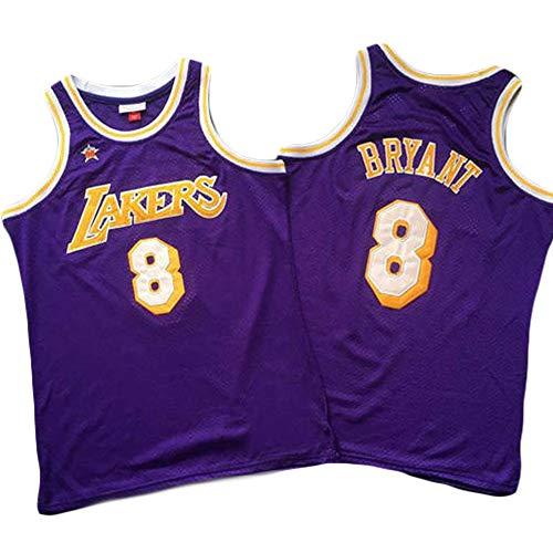 WANLN Camiseta De La NBA Lakers 8# Kobe Bryant 98 All-Star Rookie Bordado De Malla Baloncesto Swingman Jerseys Camisetas Deportivas Camisetas,L