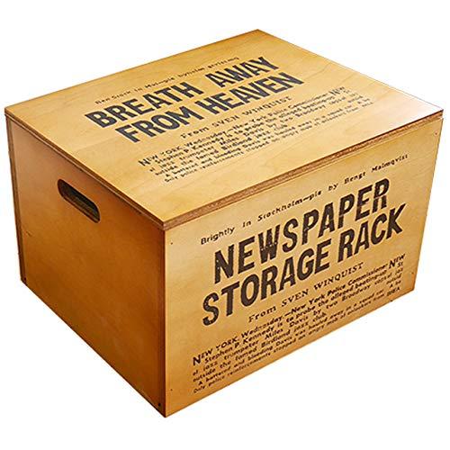 BREA『木箱収納ボックスふた付き』