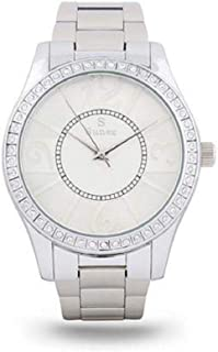 Sunex Women's Silver Dial Stainless Steel Band Watch S0353SW