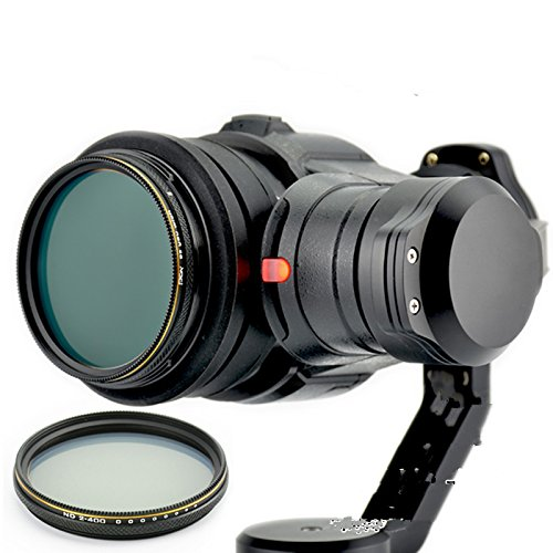 Zhuhaixmy Neutral Density ND2-400 Adjustable Filter Lens Filter Objektiv Protector Schutz for DJI Inspire1 Zenmuse X5 Gimbal Camera Kamera/DJI OSMO Camera Kamera