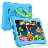 Vankyo Z1 für Kinder 7 Zoll Tablet Kinder Tablet mit Kindersicherungsmodus, 32 GB Speicherraum, Android 8.1, Dual 2Mp Kamera, Blau Hülle, 7 Zoll Kinder Tablet für Jungen