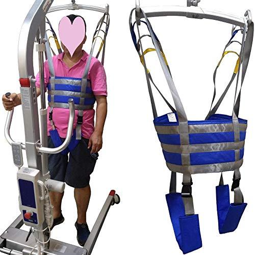 51aetyh6ewL - Manejar Médico Cuerpo Completo Paciente Eslingas De Elevación Muslo Cadera Cintura Lumbar Atrás Apoya En Pie SIDA Entrenadores Pierna Ejercicio Con Acolchado Cofre Buffer Gran Capacidad De Carga
