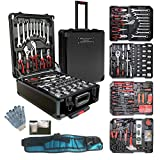 Best Tool Sets - 799pcs Aluminum Trolley Case Tool Set Silver, House Review