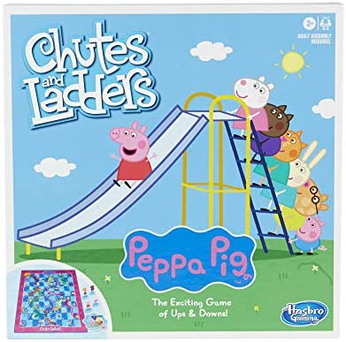 Hasbro Gaming Chutes and Ladders Peppa Pig Edition Board Game for Kids Ages 3 and Up for 2 4 product image