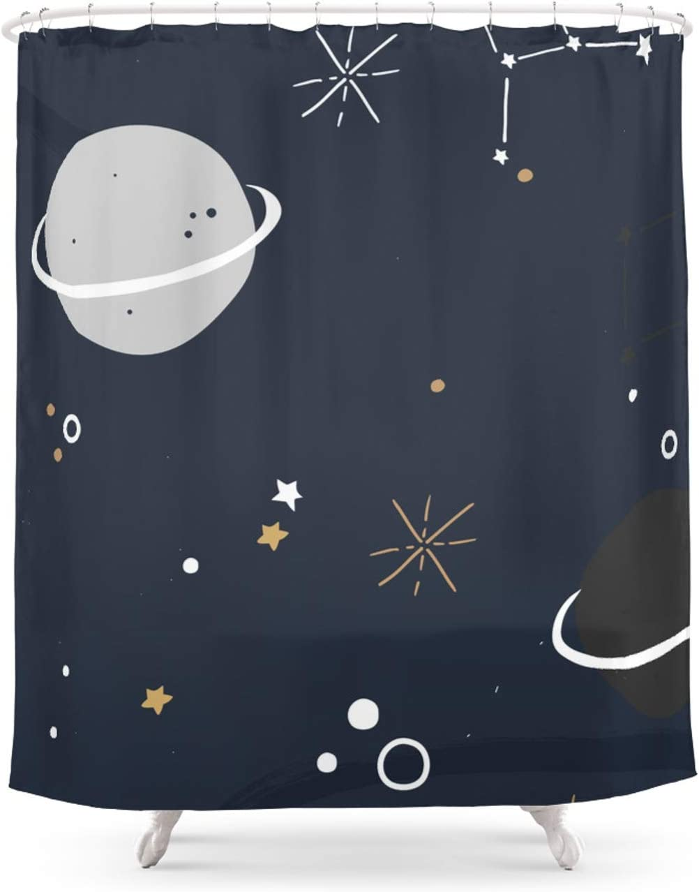 Cheap mail order OFFicial mail order sales Outer Space by The Native State on Curtain Shower x 74