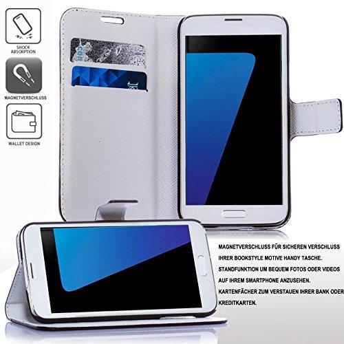 numerva Handyhülle kompatibel mit Huawei Ascend Y530 Hülle [Rosen Muster] Case Ascend Y530 Handytasche - 3