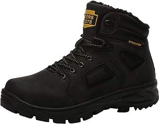 JIANYE Bottes de Neige Homme Snow Boots Hiver Bottes de Randonnée Impermeable Trekking Chaudes Chaussures